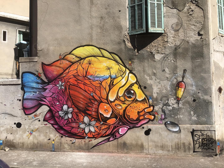 'Petit Poisson', 1Sekt ( Rue de Bourgogne, 2020)