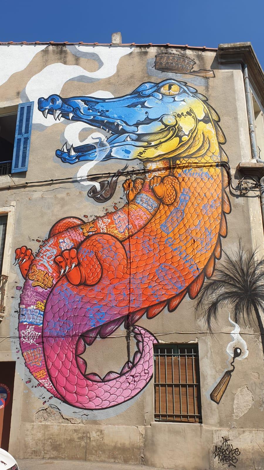 'Le Croco', 1Sekt ( Rue de Bourgogne, 2020)