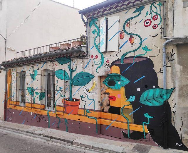 'Porter du fruit', nhobi_cerqueira ( Rue de Baudin, 2021)