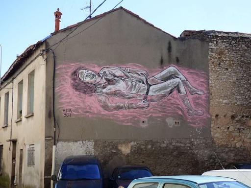 'Bain de roses', Aiia (Rue des Bon Enfants, 2017)