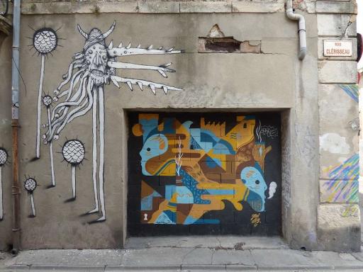 Bault, GoddoG (Rue Clérisseau, 2015)