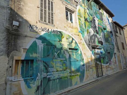'Cheval de Troie', Sismikazot (Rue Flechier, 2015)