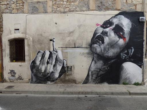'Cigarette', Dire 132 (Rue des Bon Enfants, 2017)