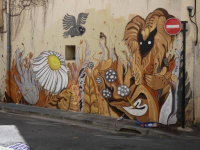 'Couleurs d'automne', Nhobi (Rue de L'Écluse, 2018)