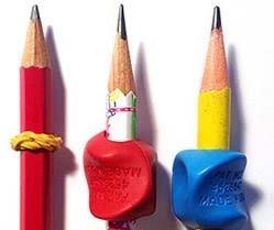 Crayon avec elastic et embout 250pz blogq5