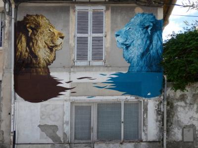 'Face a face', polo 51.67 (rue pierre Semard, 2018)