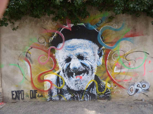 'Fou rire', Ose (Rue Paulet, 2015)