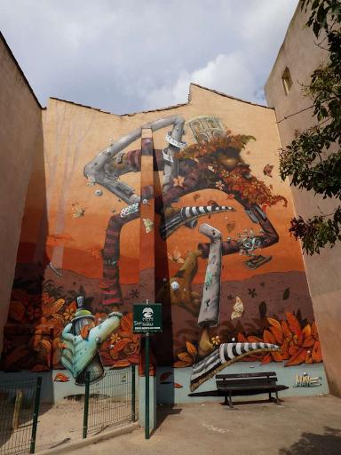 'Le bombeur cool', Maye (Rue Clérisseau, 2015)