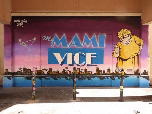 'My mami vice', Caine, Cork (Rue Flechier, 2017)
