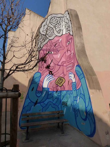 Pablito zago (Rue Clérisseau, 2015)