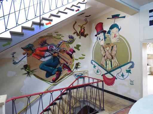 Primal (Rue de Beaucaire, étage de l'archipel, 2016)