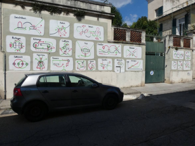 Tina et Charly (Rue Porte d'Alès, 2018)