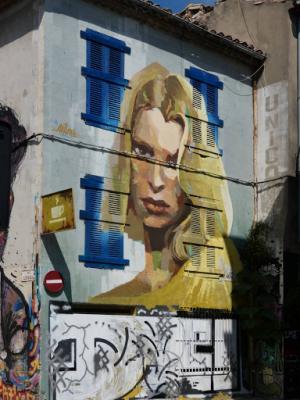 'Une belle blonde', Arkane (Rue Bachalas, 2018)
