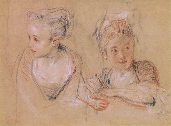 Watteau jeune fille