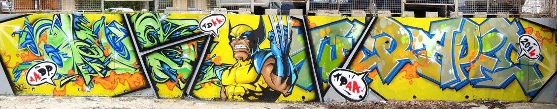 'Wolverine', Pyrate, Okus (Nîmes, 2017)